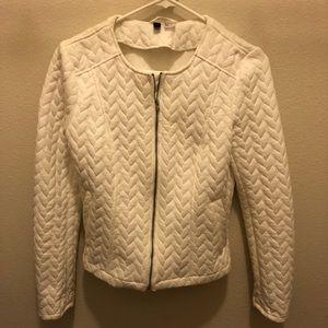 White h&m jacket